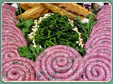 Broccoli Rabe Sausage Ring